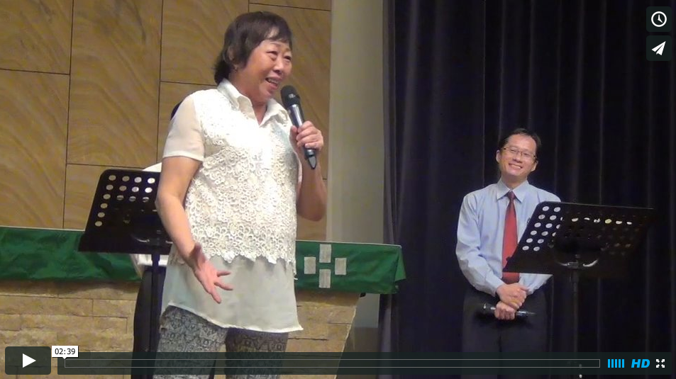 Joan Lee healing Testimony in Chinese Langauge