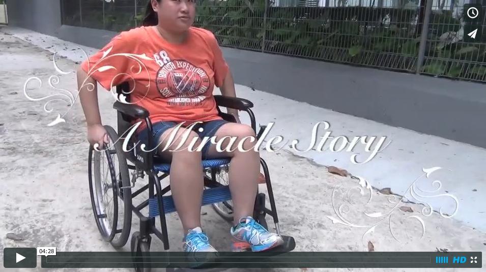 Wheelchair to Running
